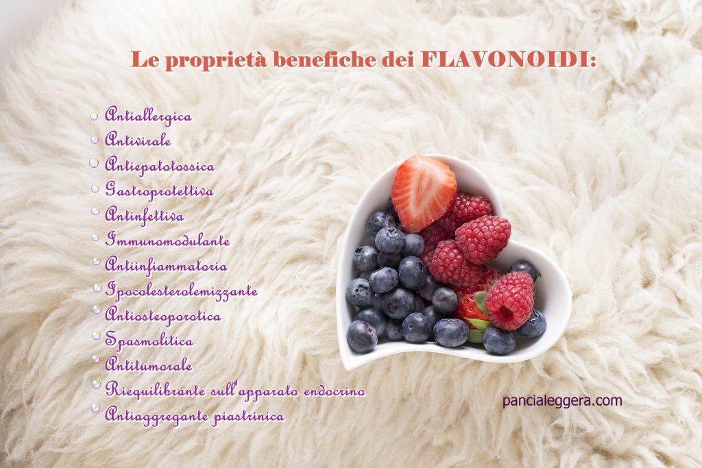 flavonoidi-proprietà-pancialeggera