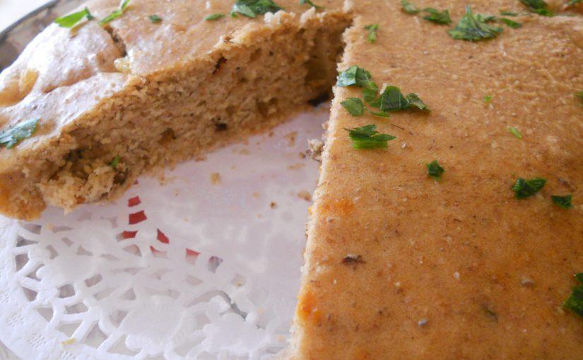 Torta integrale alla paprika, con olive e pomodori secchi – ricetta light