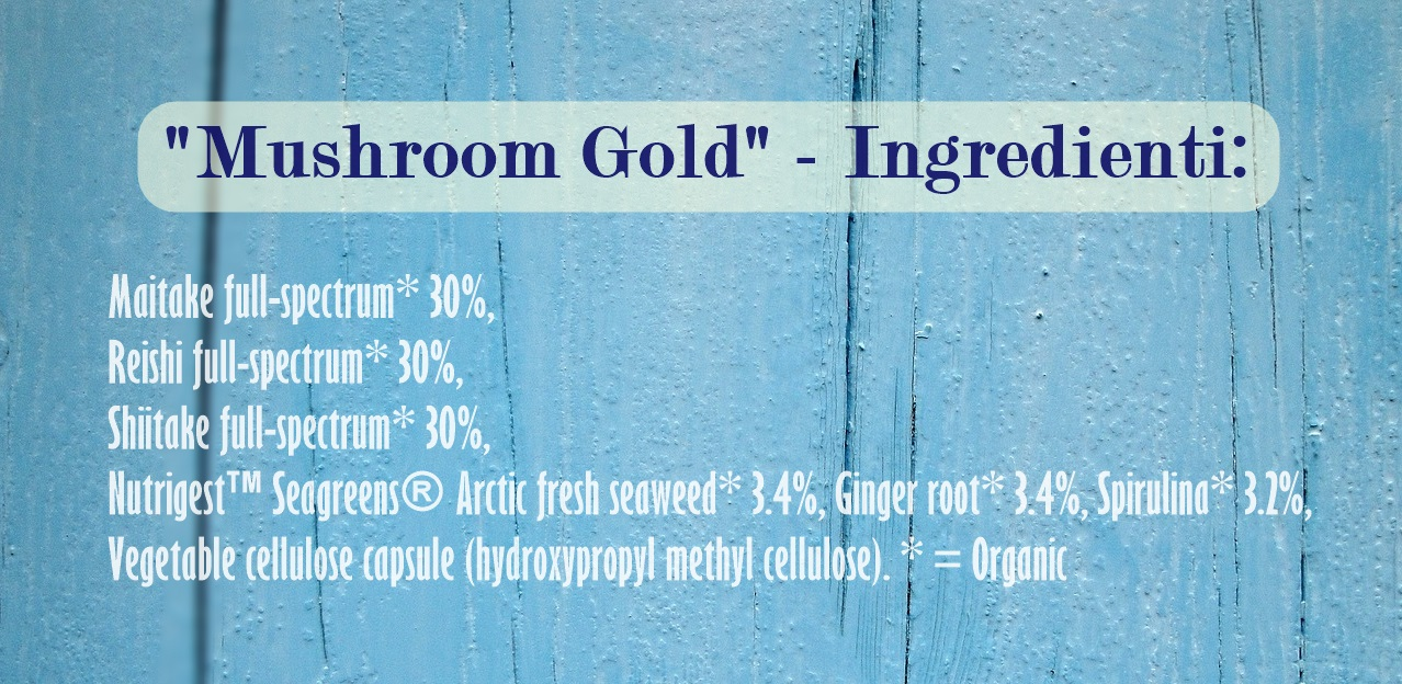 Mushroom Gold Ingredienti