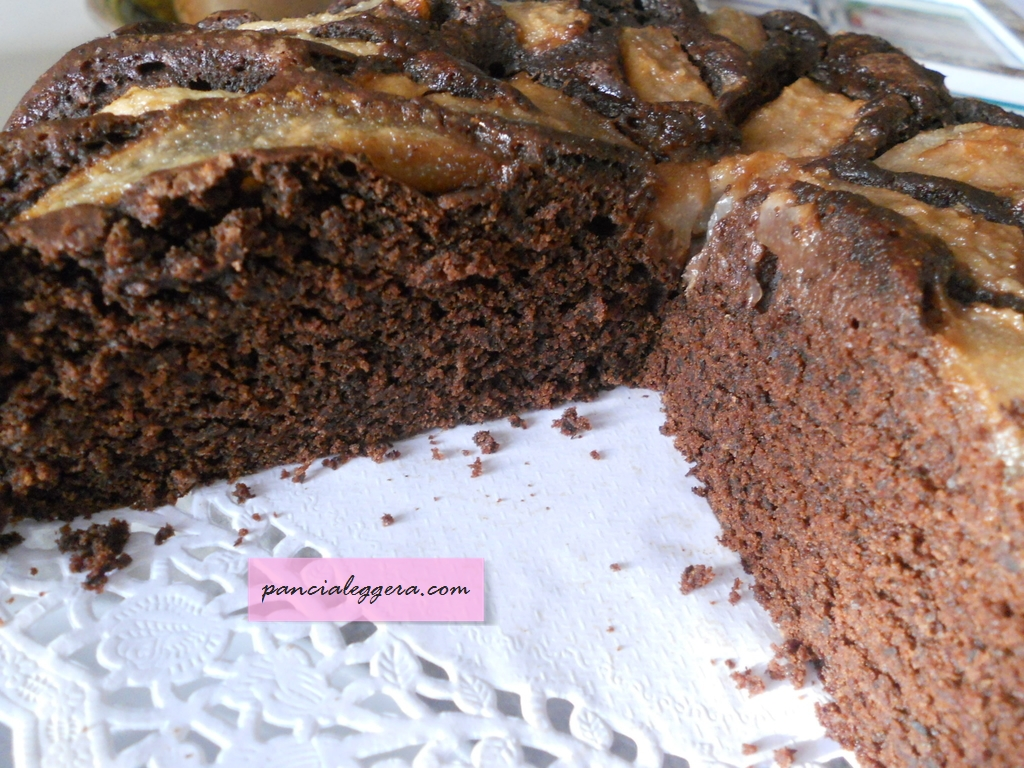 ricetta4-torta-pere-cioccolato-pancialeggera