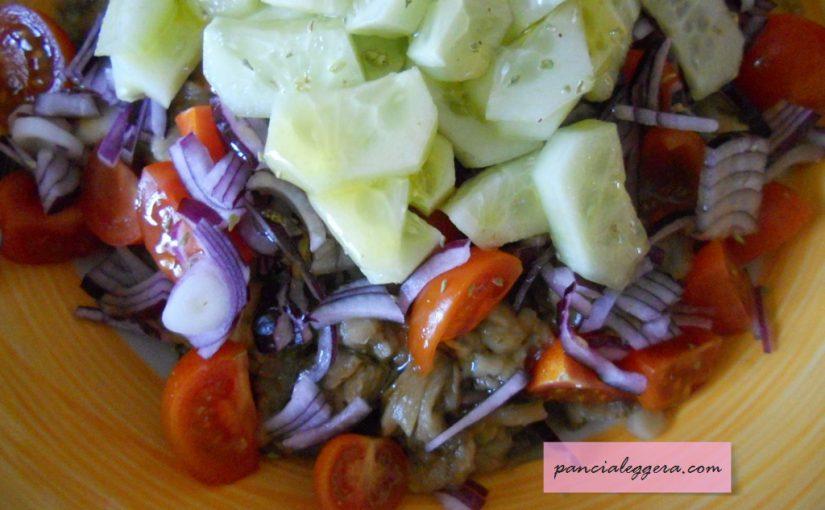 Insalata di melanzane – ricetta di un contorno veloce e leggero