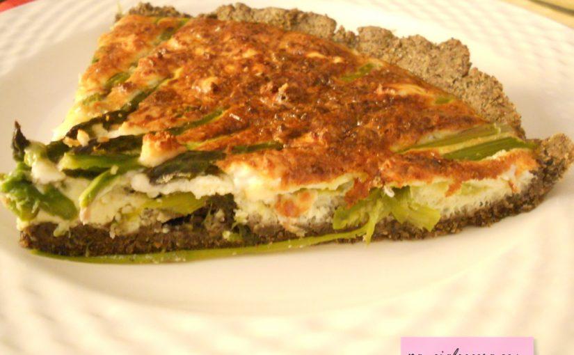 Torta salata con asparagi senza glutine – ricetta light