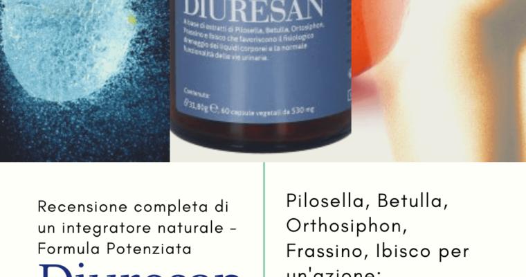 La Formula Potenziata di Diuresan Salugea – integratore naturale diuretico e drenante