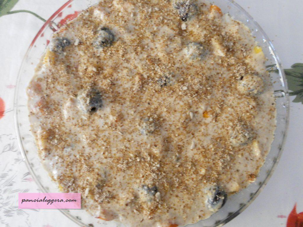 clafoutis-frutta-kefir-senza-burro-uova-procedimento3-pancialeggera