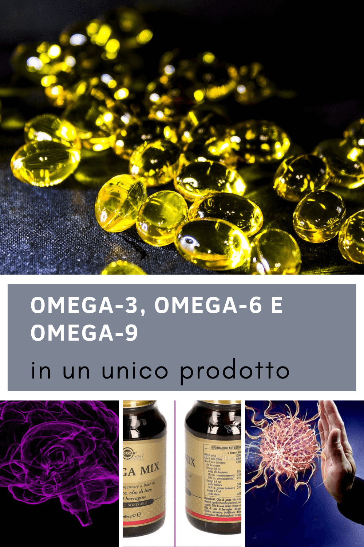 Integratore Omega Mix Solgar – perle preziose di Omega-3, Omega-6 e Omega-9
