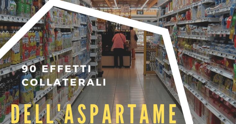 Aspartame – fa male o no? Dove si trova e che effetti collaterali ha?