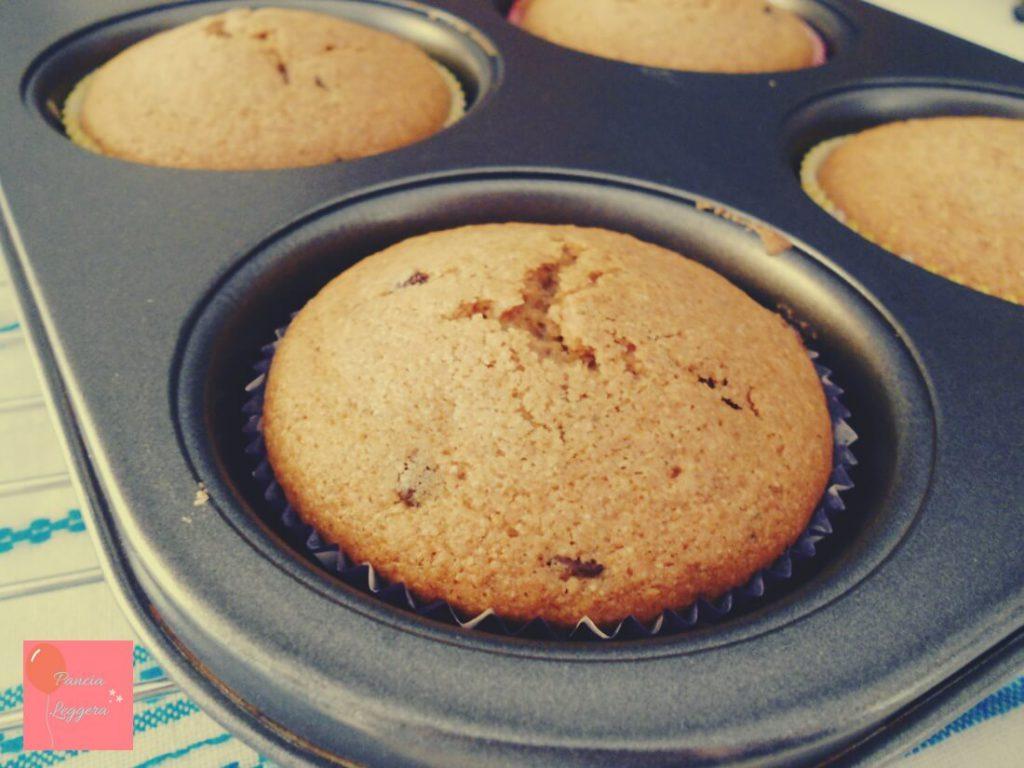 muffin-integrali-al-tè-verde-con-gocce-di-cioccolato-procedimento5-pancialeggera