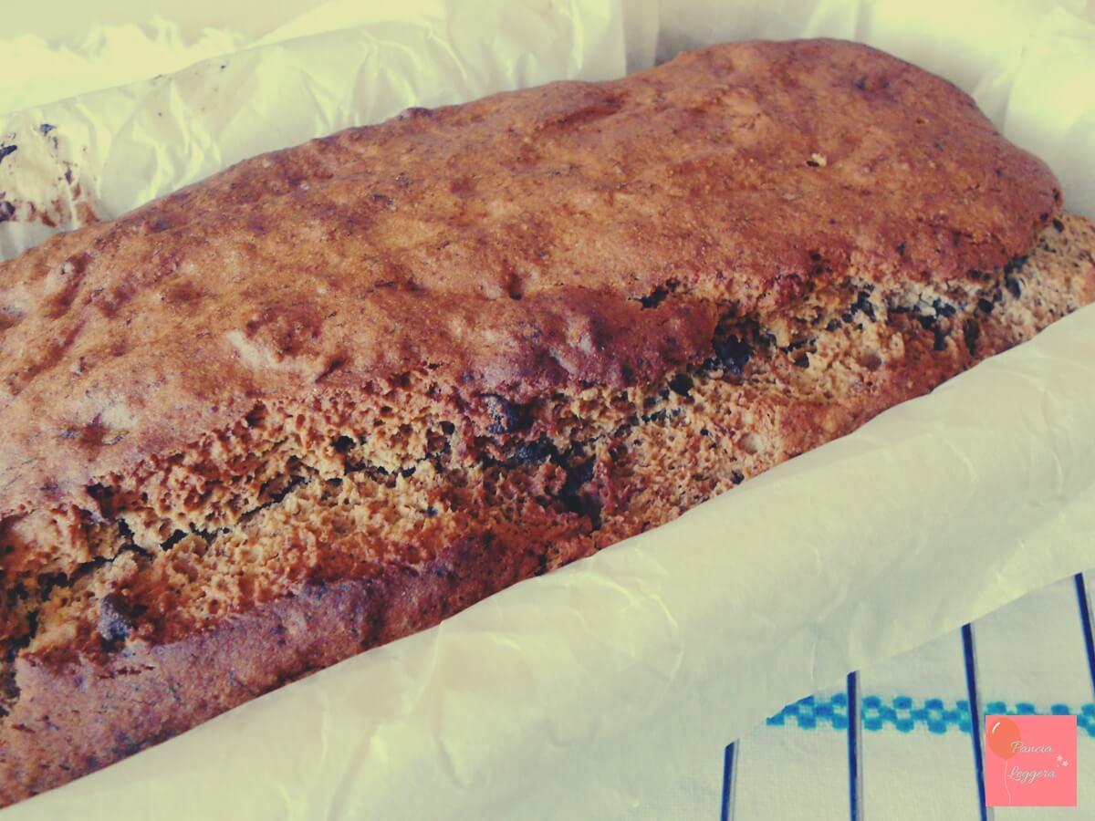 banana-bread-con gocce-di-cioccolato-fondente-senza-glutine-senza-uova-senza-burro