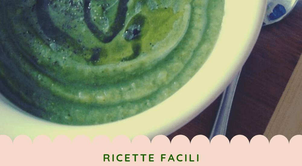 Vellutata di piselli secchi e broccoli – ricetta facile e light