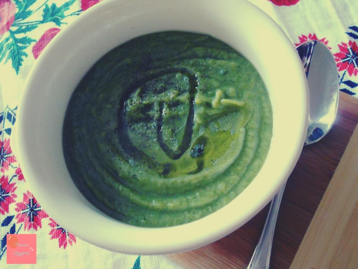 Vellutata di piselli secchi e broccoli – ricetta facile e light