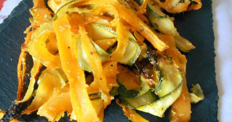 Contorno di zucchine e carote gratinate – ricetta senza glutine