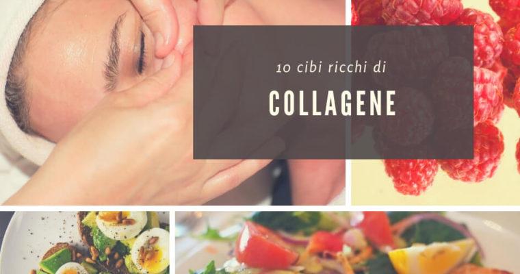 10 cibi ricchi di collagene per una pelle giovane ed elastica