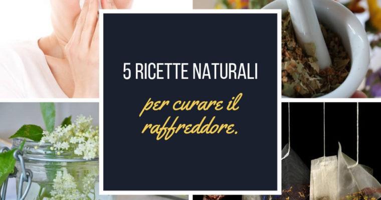 Come curare il raffreddore con i rimedi naturali – 5 ricette efficaci