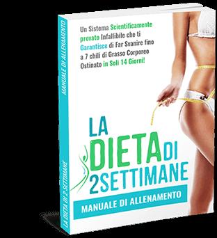 dieta 2 settimane manuale di allenamento
