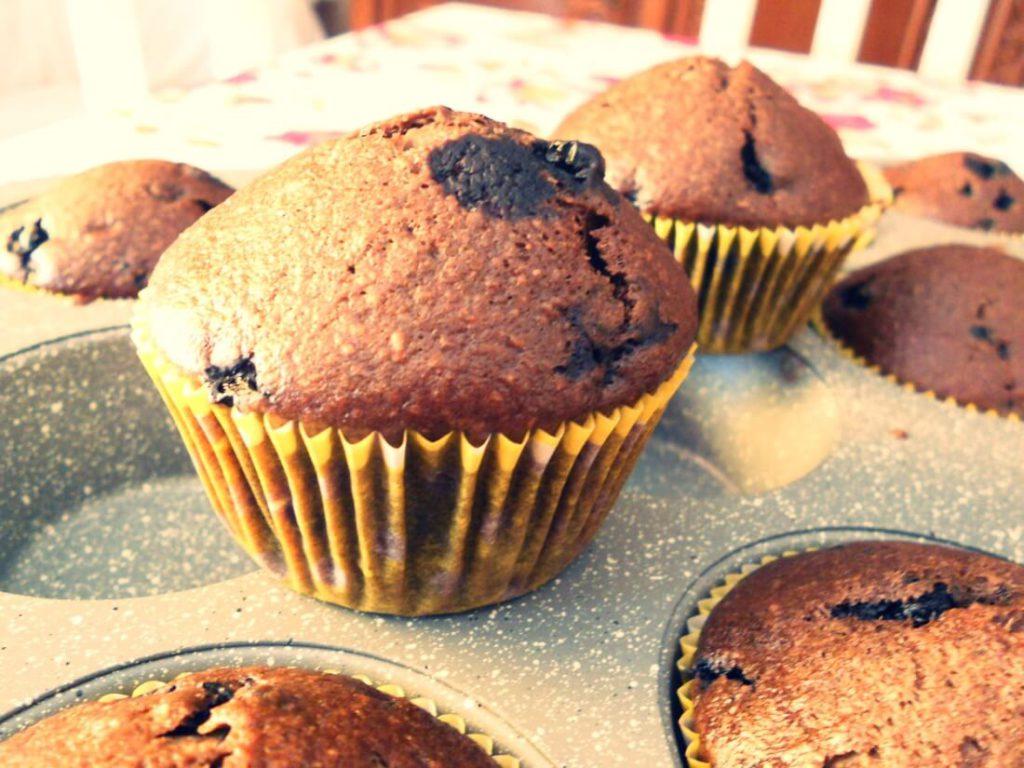 muffin integrali vegani al cacao