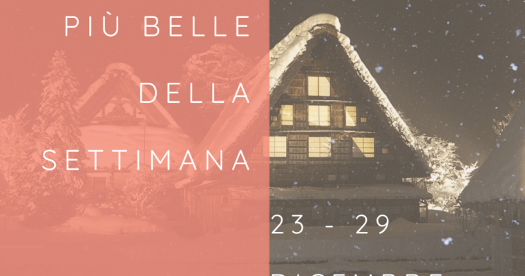 Frasi, aforismi e citazioni più belle della settimana 23 – 29 dicembre 2019