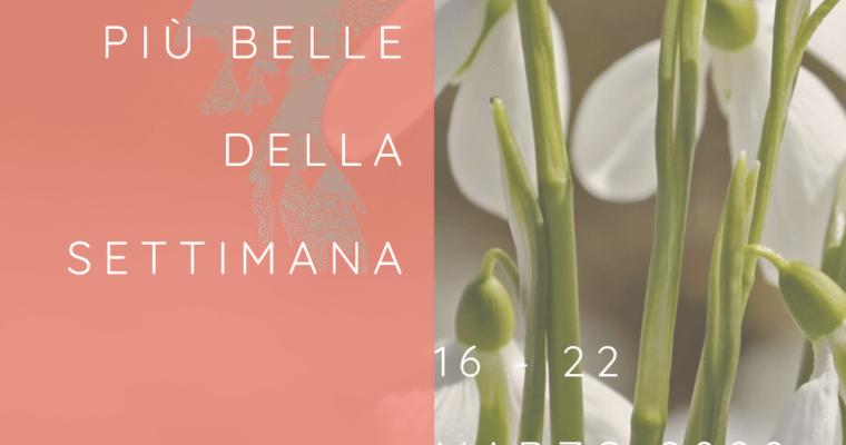 Frasi, aforismi e citazioni più belle della settimana 16 – 22 marzo 2020