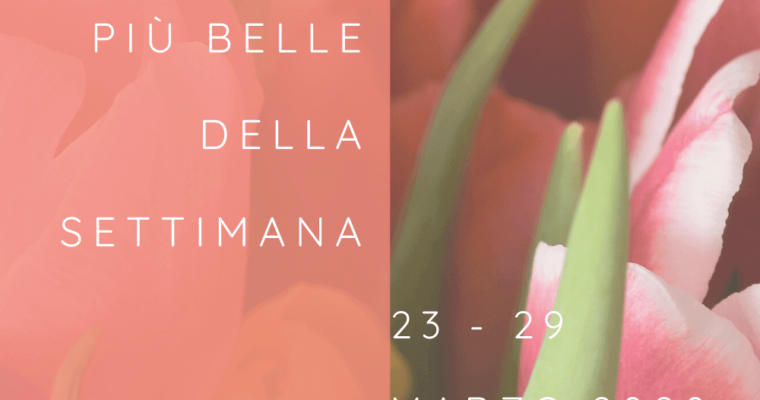 Frasi, aforismi e citazioni più belle della settimana 23 – 29 marzo 2020