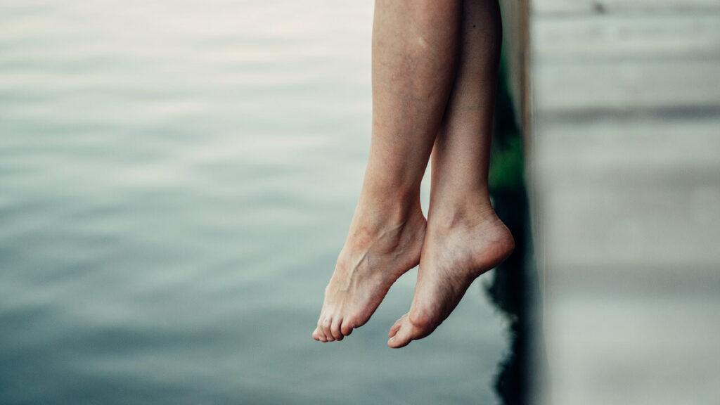 capillari rotti sulle gambe